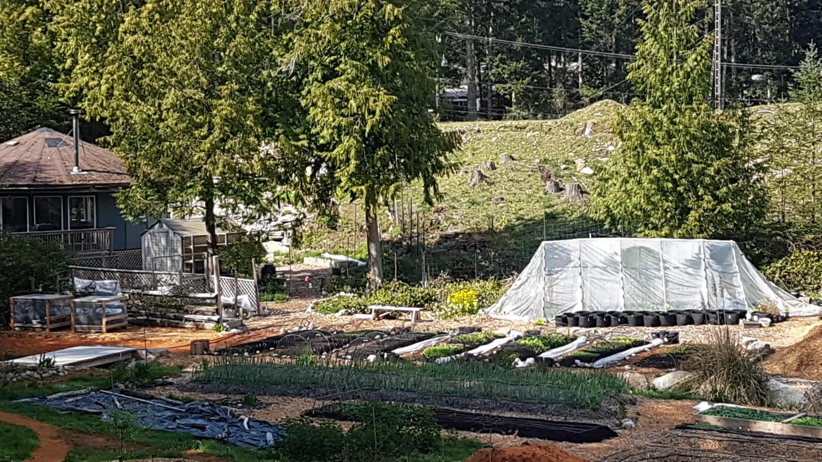 Hobby Farm on Galiano Island